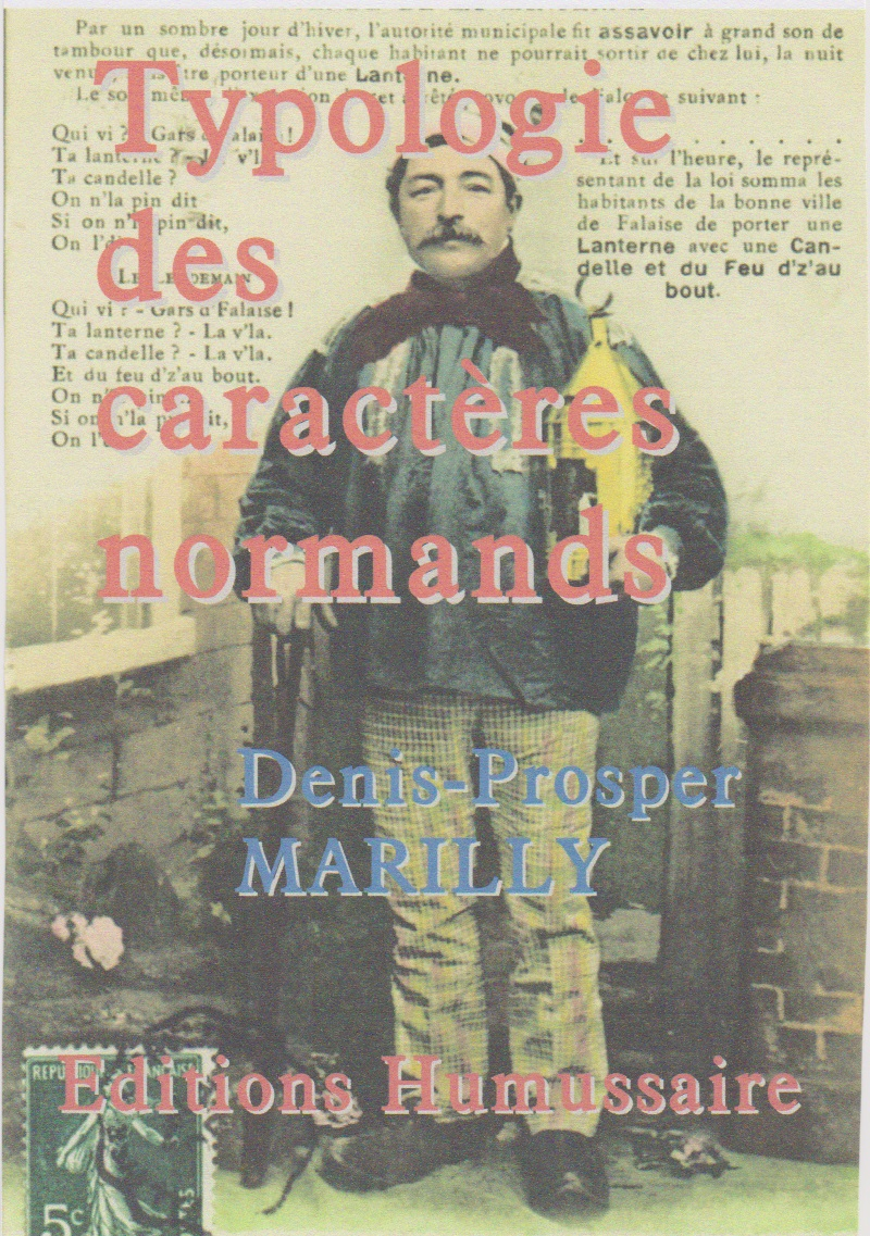 Typologie des caractères normands - Denis-Prosper Marilly